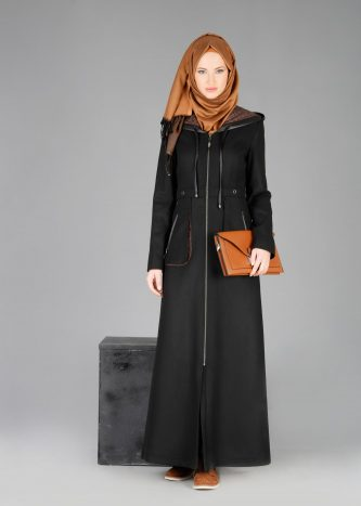 Fermuarlı Genç Giyim Pardesü